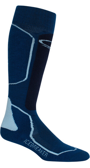 Icebreaker Ski+ Medium OTC Sokken Heren blauw